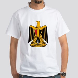 Egypt Coat of Arms White T-Shirt