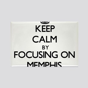 Keep Calm by focusing on on Memphis Magnets