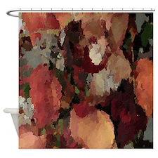 Autumn Mosaics Shower Curtain