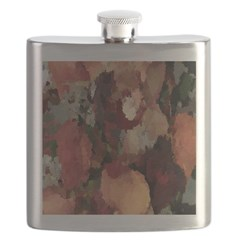 Autumn Mosaics Flask