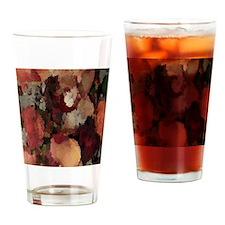 Autumn Mosaics Drinking Glass