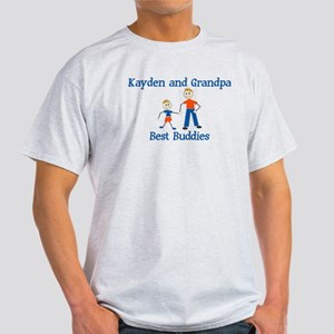 Kayden & Grandpa - Best Buddi Light T-Shirt