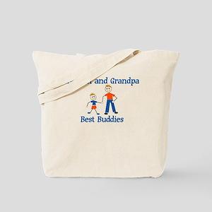 Kayden & Grandpa - Best Buddi Tote Bag
