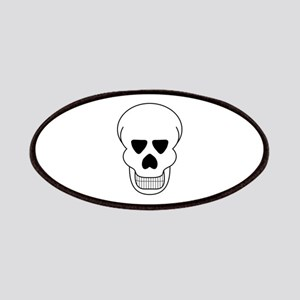 Halloween Skull Patches