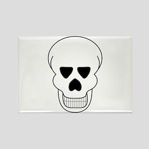 Halloween Skull Magnets