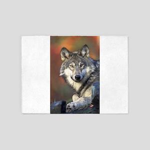 Wolf 025 5'x7'Area Rug