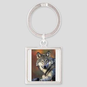 Wolf 025 Keychains