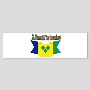 St Vincent & The Grenadines Bumper Sticker