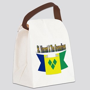 St Vincent & The Grenadines Canvas Lunch Bag