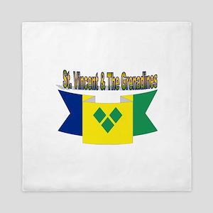 St Vincent & The Grenadines Queen Duvet