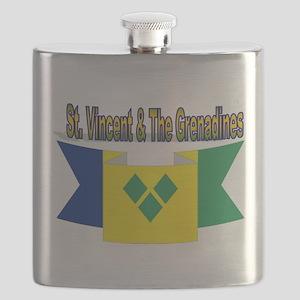 St Vincent & The Grenadines Flask