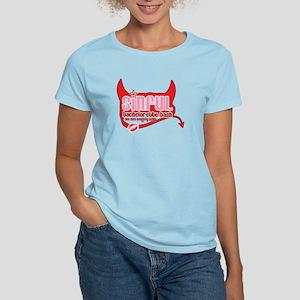 Sinful Bachelorette Bash Women's Light T-Shirt
