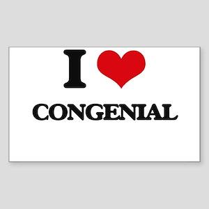 I love Congenial Sticker