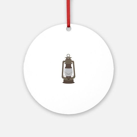 Camp Lantern Ornament (Round)