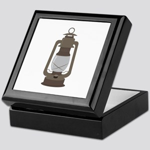 Camp Lantern Keepsake Box