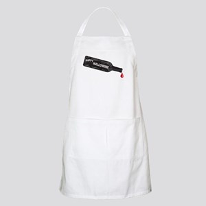 Happy Hallowine Light Apron