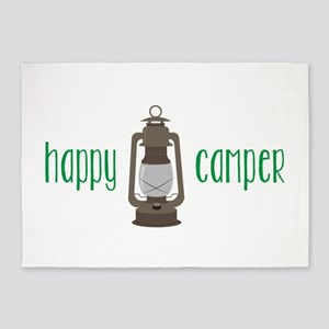 Happy Camper 5'x7'Area Rug