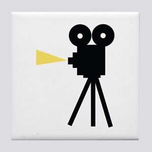 Movie Camera Tile Coaster