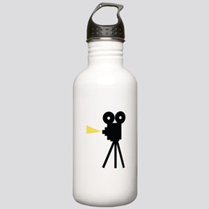 Movie Camera Water Bottle