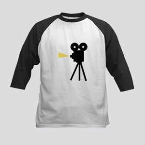 Movie Camera Baseball Jersey