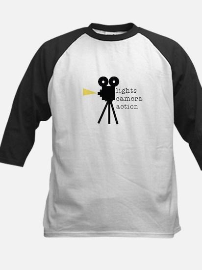 Camera Action Baseball Jersey