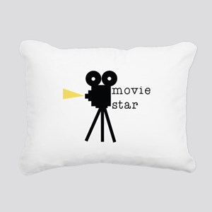 Movie Star Rectangular Canvas Pillow