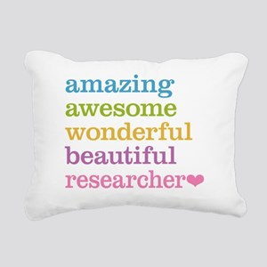 Awesome Researcher Rectangular Canvas Pillow