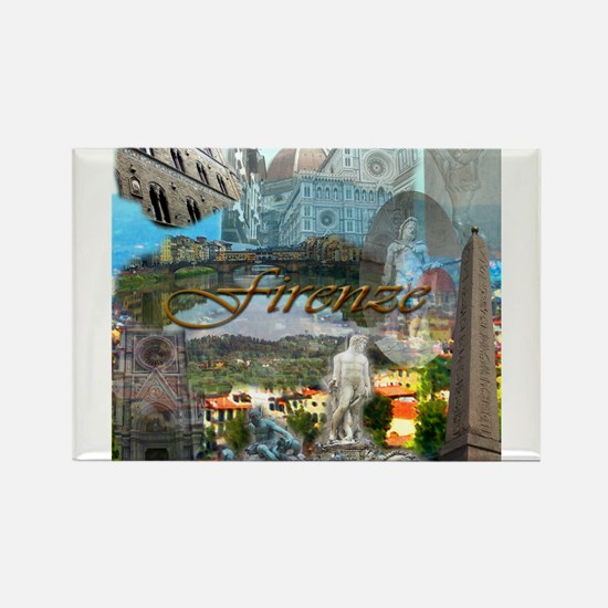 Cute Florence italy Rectangle Magnet