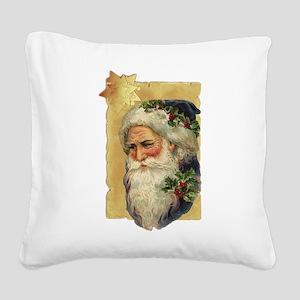 Saint Nicholas Square Canvas Pillow