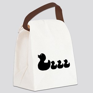 Ducklings Canvas Lunch Bag