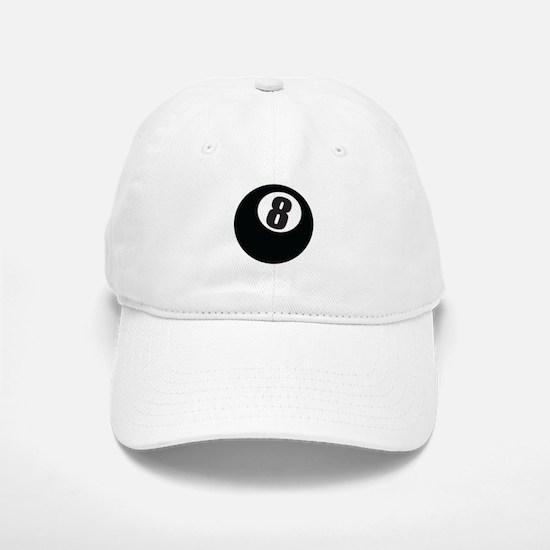 8 Ball Baseball Baseball Cap