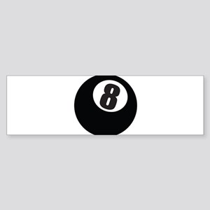 8 Ball Bumper Sticker