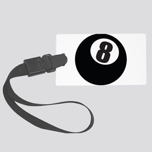 8 Ball Large Luggage Tag