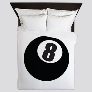 8 Ball Queen Duvet