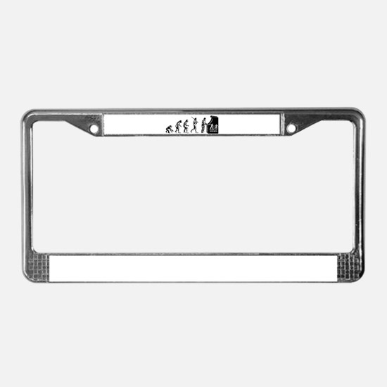 Arcade Gamer Evolution License Plate Frame