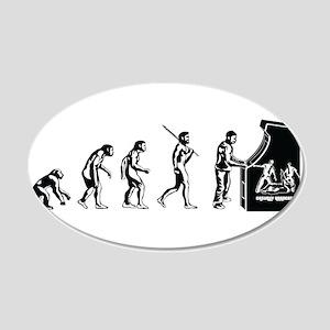 Arcade Gamer Evolution Wall Sticker