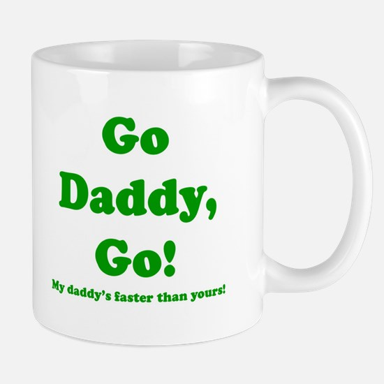 go daddy go Stainless Steel Travel Mugs