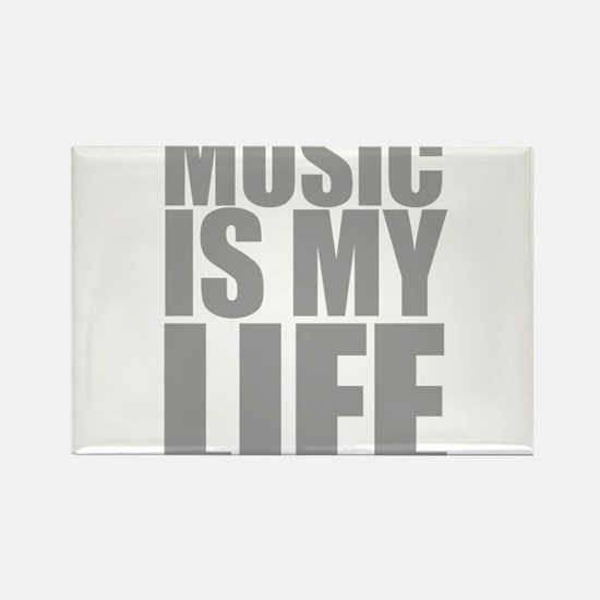 Music Is My Life Magnets
