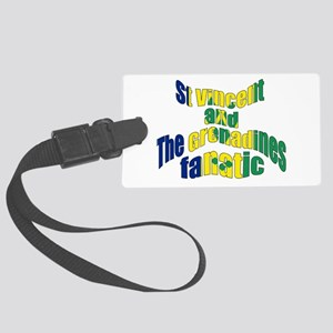 St Vincent & The Grenadines Large Luggage Tag