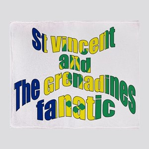 St Vincent & The Grenadines Fanatic Throw Blan