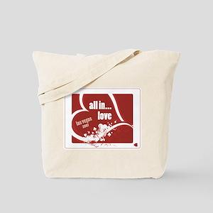 """Poker """"All In..."""" Love Tote Bag"""
