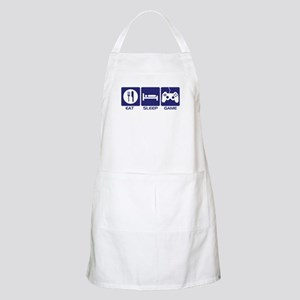 Eat Sleep Game Apron