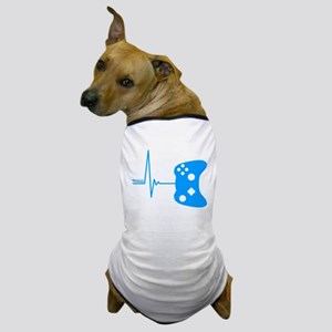 Gamer Heartbeat Dog T-Shirt