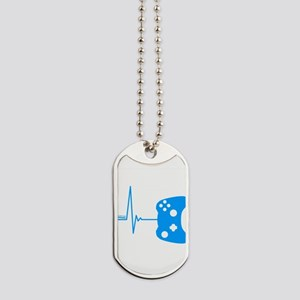Gamer Heartbeat Dog Tags
