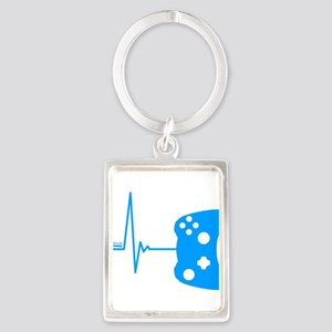 Gamer Heartbeat Keychains