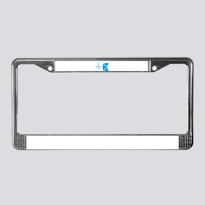 Gamer Heartbeat License Plate Frame