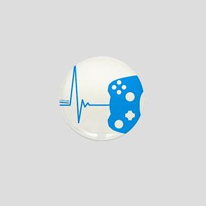 Gamer Heartbeat Mini Button