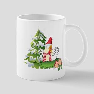 Funny Christmas Chicken and Eggs Mug