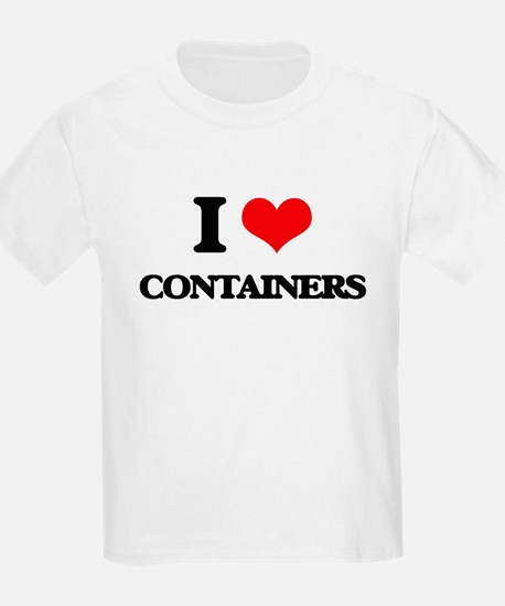 I Love Containers T-Shirt