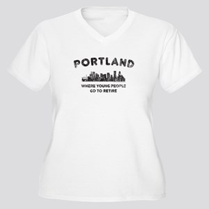 Portland. Where young people go to retire Plus Siz